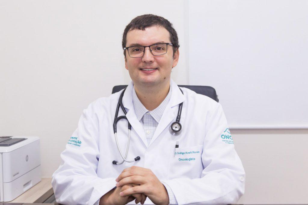 médico oncologista, Rodrigo Kraft Rovere, um dos idealizadores do Oncor – Centro de Oncologia e Hematologia
