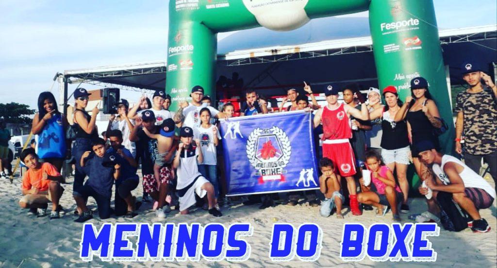 Projeto Meninos do Boxe participa da Copa SC Open 2020.
