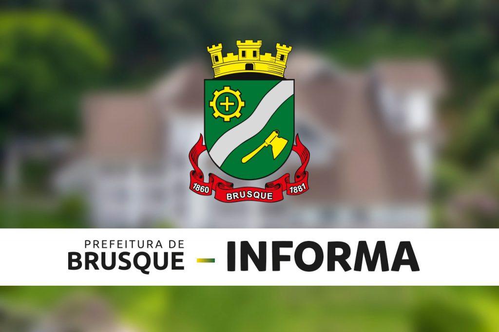 Prefeitura de Brusque Informa