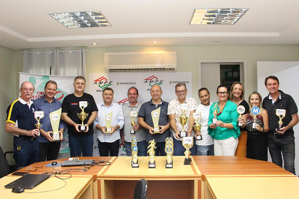 'Circuito de Corridas Ampe Brusque 30 anos' é lançado oficialmente