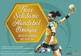 Troco Solidário Handebol Brusque será neste sábado à tarde, 7