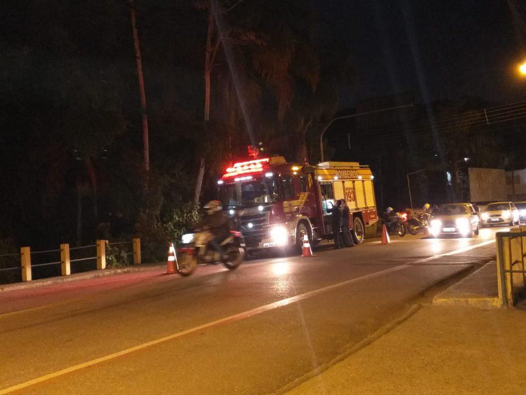 Corpo de Bombeiros foi acionado para dois incêndios no bairro Águas Claras