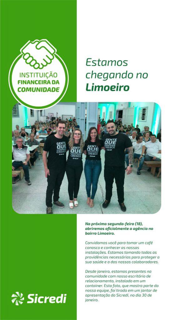 Sicredi Vale Litoral abrirá nova agência no bairro Limoeiro