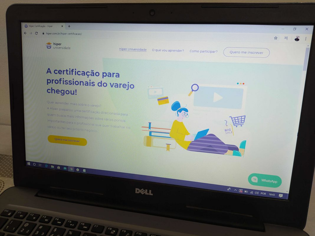 Hiper lança certificação online para capacitar profissionais do varejo