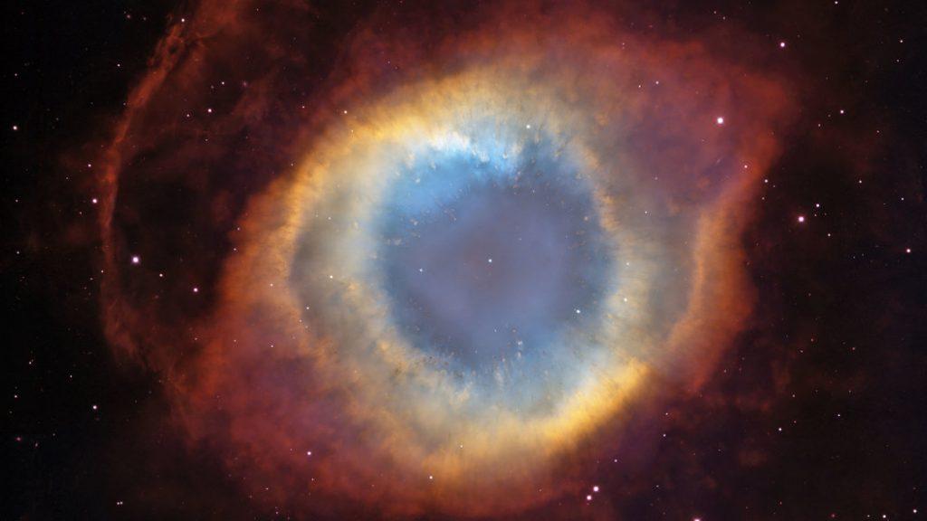 Nebulosa planetária mais próximas do Planeta Terra, conhecida como Olho de Deus