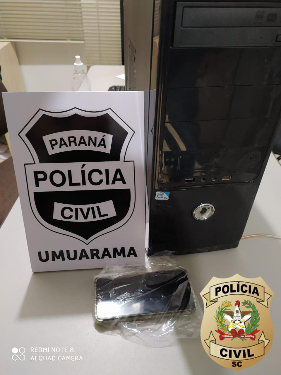 Polícia prende homem no Paraná por solicitar foto íntima de criança de Brusque