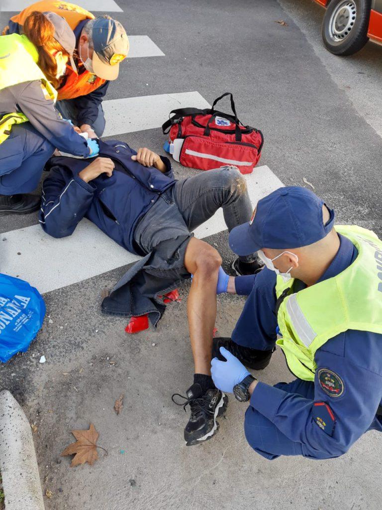 Acidente ocorreu no bairro Maluche