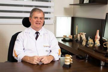 Dr. André Karnikowsk, ortopedista e traumatologista e Médido do Brusque Futebol Clube (Foto: Divulgação).