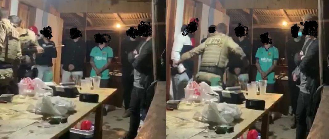 Abordagem da Polícia Militar em Guabiruba