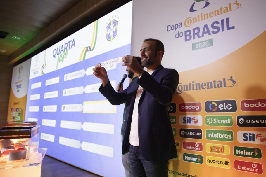 Sorteio de confrontos da quarta fase da Copa Continental do Brasil 2020 Créditos: Lucas Figueiredo/CBF