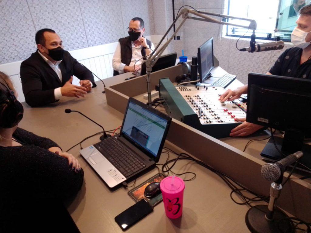 Entrevista no Programa Da Hora abordou JASC com o presidente da Fesporte, Rui Godinho