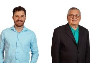 Candidatos: Alex Tachini e Zenor Sgrott