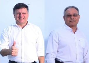 Candidatos em Brusque: Coronel Gomes e Dr. Lima