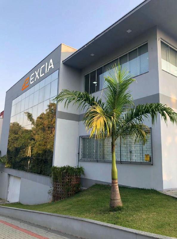 Sede Administrativa EXCIA Sistemas – Indaial SC.