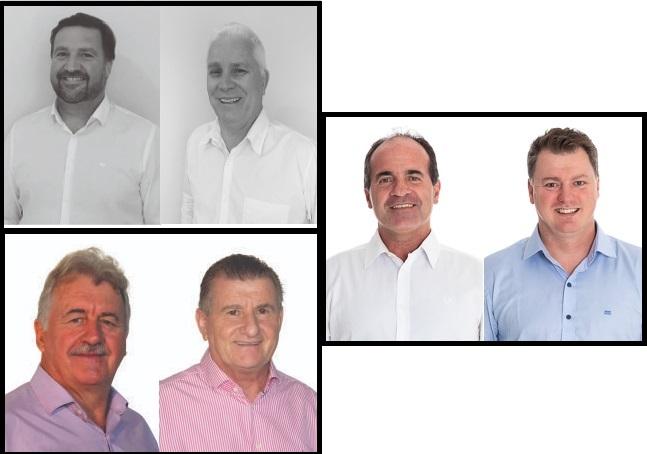 Candidaturas para prefeito e vice registradas no município de Guabiruba