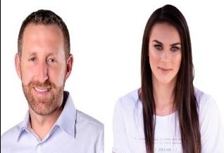 Candidatos em Brusque: Paulinho Sestrem e Tairini Raimundi