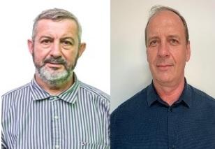 Professor Guilherme e Chico Vinagre (Foto: TSE/Divulgação)