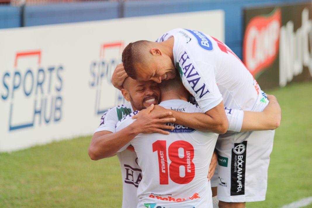 Brusque mantém liderança na Série C(Foto: Lucas Gabriel Cardoso/BFC)