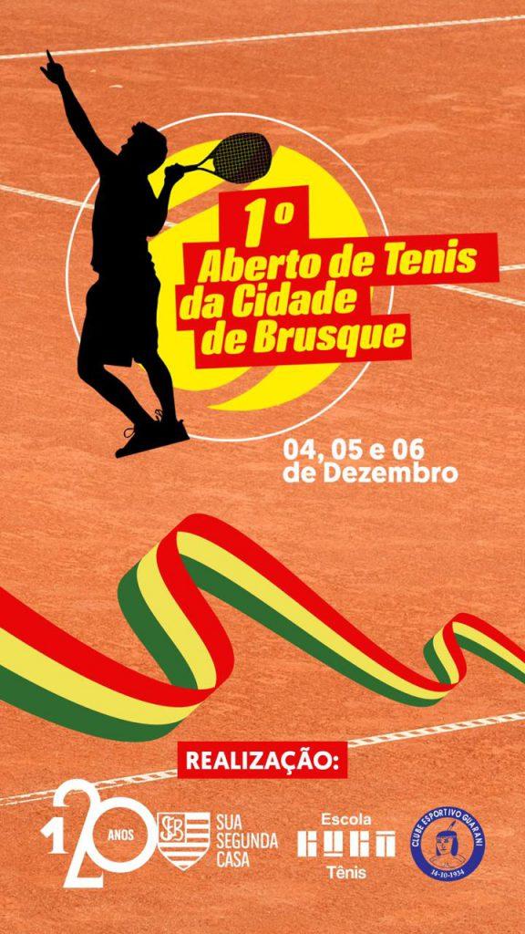 A competição será realizada numa parceria entre a Escola Guga Kuerten, Sociedade Esportiva Bandeirante e Clube Esportibo Guarani.