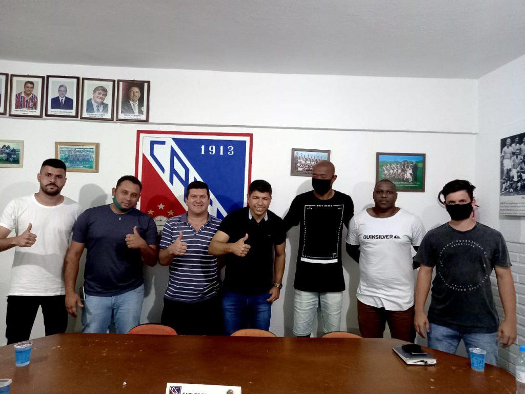 Apresentação do técnico Schwancke no Clube Atlético Carlos Renaux
