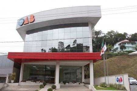 Sede da OAB Subseção Brusque