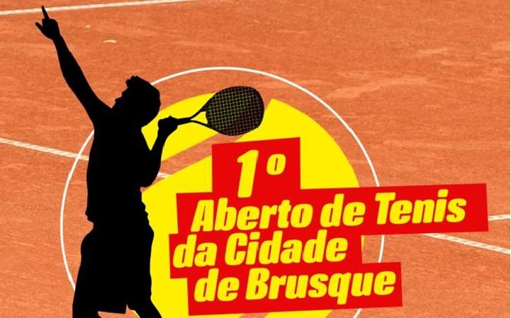 Clubes em parceria vão realizar no mês de dezembro, o 1º Aberto de Tênis da Cidade de Brusque