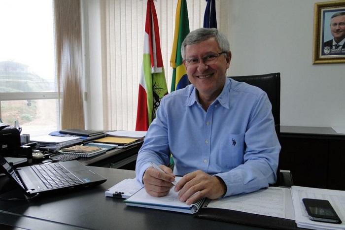 Prefeito de Guabiruba, Matias Kolher (Foto/Arquivo)
