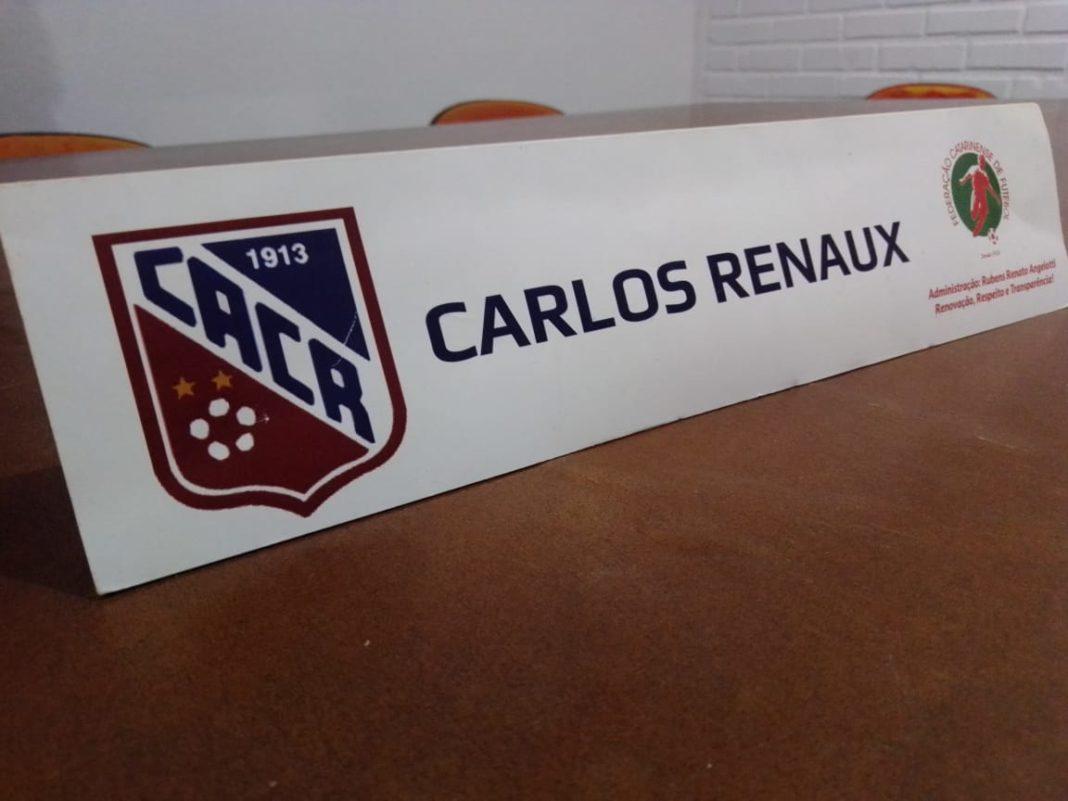 Clube Atlético Carlos Renaux disputará o Catarinense de Futsal, Copa SC e competições da Fesporte