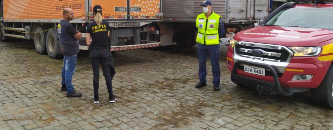 Órgãos de segurança foram acionados para atender caso de óbito na manhã desta quinta-feira, 12