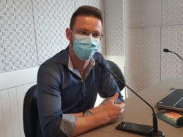 Diretor da Secretária Municipal de Saúde, Rodrigo Cesari, no Jornal da Diplomata