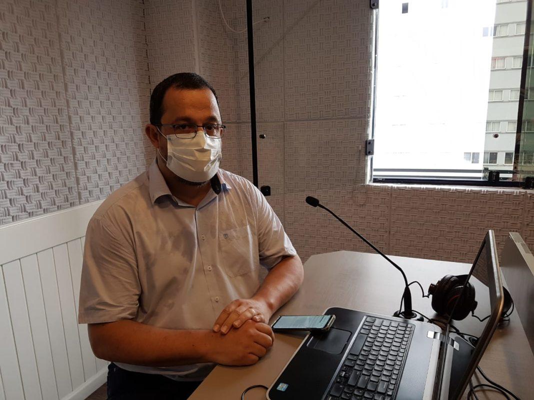 Secretário de Gestão e Governo da Prefeitura de Brusque, Willian Molina