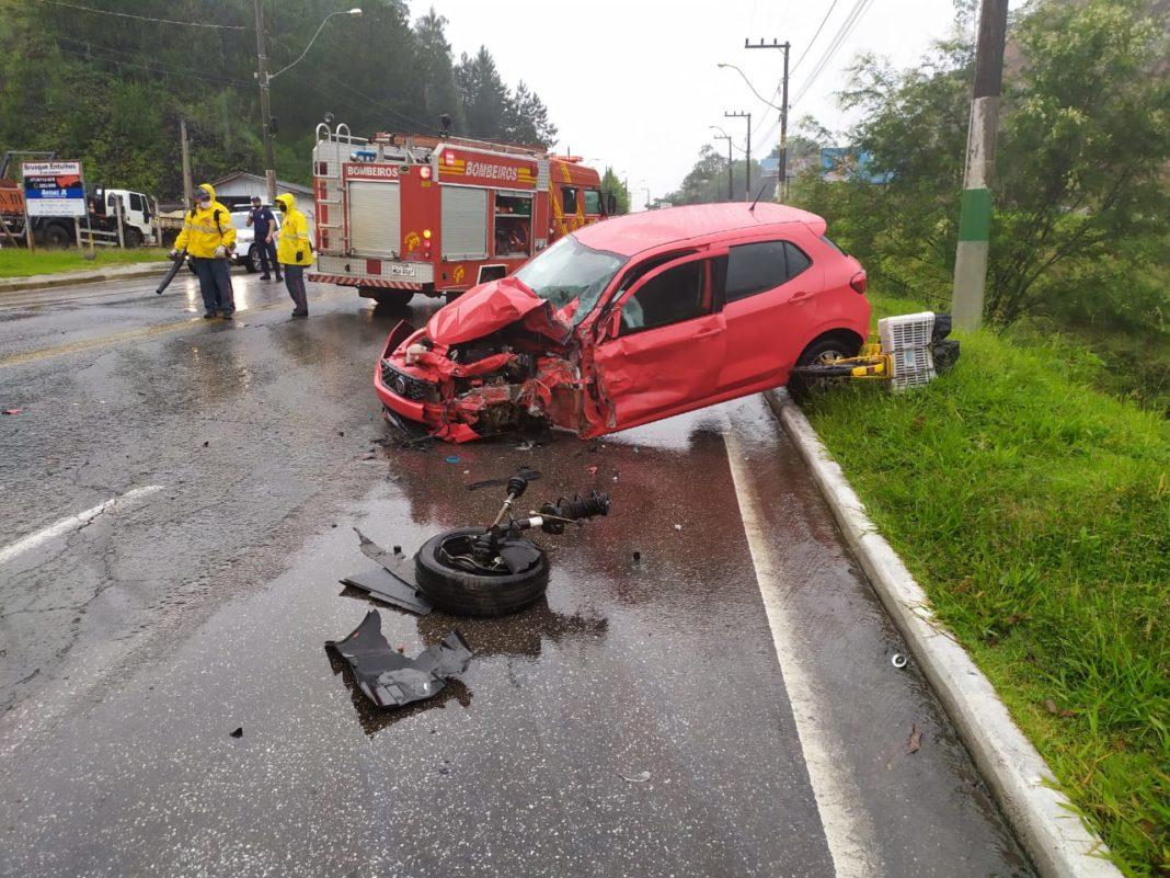 Acidente registrado na manhã desta quarta-feira, 15, na região do Mont Serrat