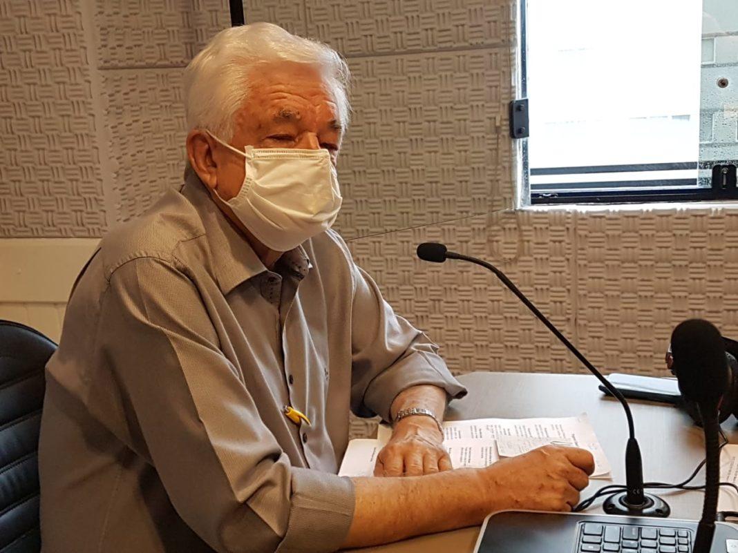 O prefeito Jonas Paegle esteve no Jornal da Diplomata