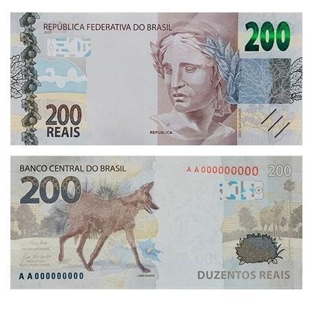 Nota de R$ 200,00
